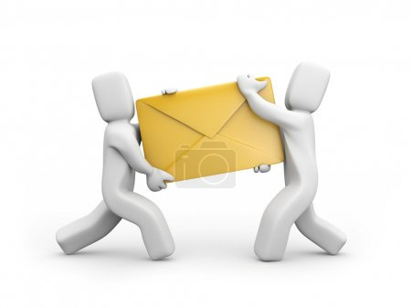 Persons delivery mail