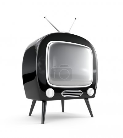 Stylish retro TV.