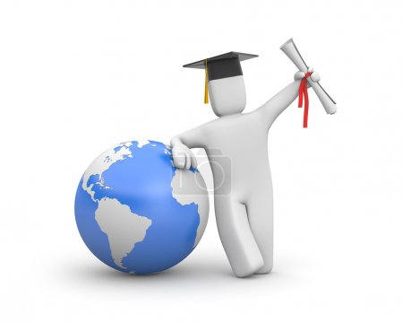 The world is opened for you. Graduate