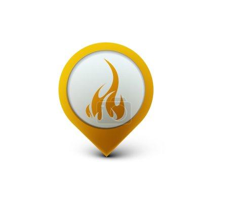 Fire web icon