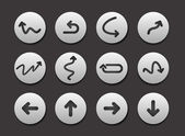 Set of Arrow Icon graphics for web design collections