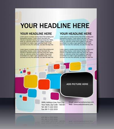 Vector editable Presentation of Flyer/Poster desig...