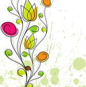 """Постер, картина, фотообои """"абстрактный красочный весенний цветочный образец"""""""