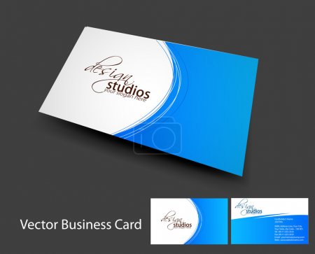 Illustration for Vector business card set , elements for design. - Royalty Free Image