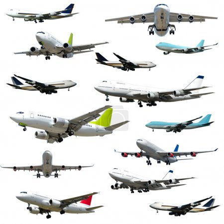 Plane collection. High resolution