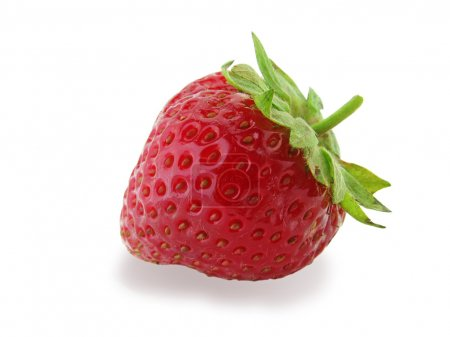 Photo for Strawberry isolated on white - Royalty Free Image