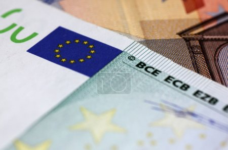 Photo for Close up of European union money - Royalty Free Image
