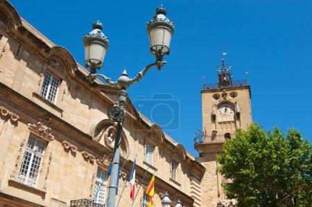Clock tower Aix-en-Provence