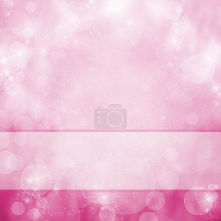 Photo for Pink background with sparkle - Royalty Free Image