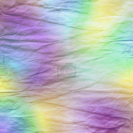 Photo pour Fond de papier froissé pastel rétro - image libre de droit