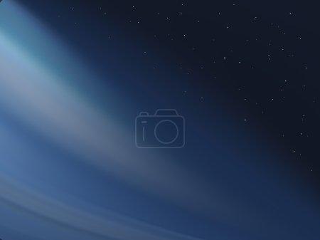 Foto de Fondo dinámico azul con estrellas - Imagen libre de derechos
