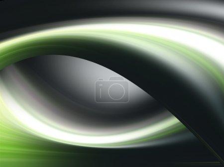 Photo pour Vert noir blanc fond dynamique - image libre de droit