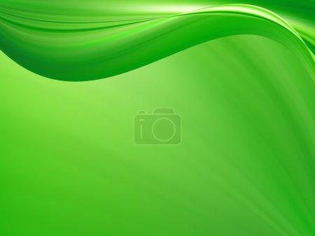 Photo pour Fond vert couleur totale - image libre de droit