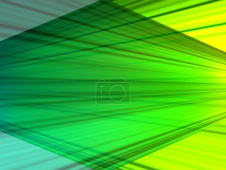 Photo for Conceptual green transformation in diferrent colors. Abstract illustration - Royalty Free Image