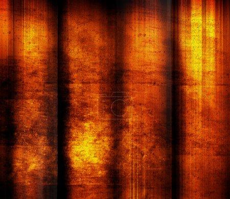 Photo pour Texture rouge avec des effets lumineux. Illustration synthétique - image libre de droit