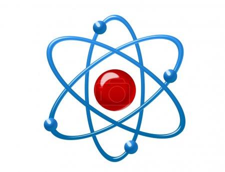 Atom illustration