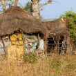 African tribal hut, traditional african village, S...