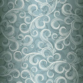 Seamless curl floral background Illustration in eps10 format