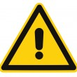 Blank Other Danger And Hazard Sign, isolated, blac...