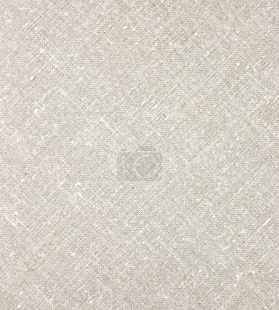 texture légère de linge, toile de jute naturelle diagonale agrandi en gris