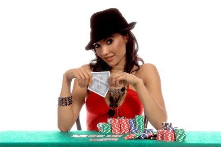 Sexy Poker Player