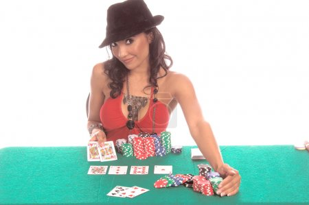 Sexy Poker Player