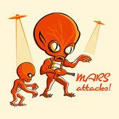 Mars útoky