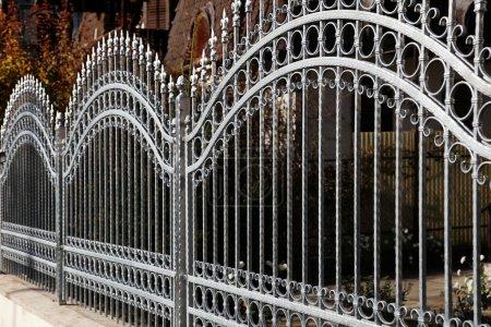 clôture en fer