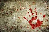 Krvavý zeď