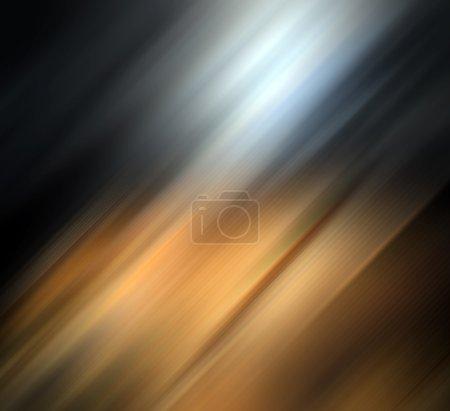 Photo pour Abstrait qui représente le jeu de la lumière et le mouvement - image libre de droit