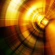 Abstract orange background representing circling l...