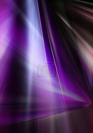 Photo pour Fond violet abstrait représentant un jeu de lumière - image libre de droit