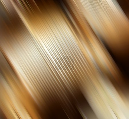 Photo for Abstract gold background representing speed and action - Royalty Free Image