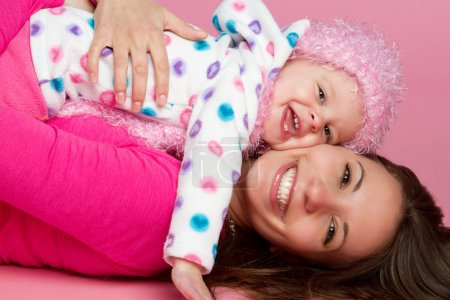 Photo for Happy smiling mother and child - Royalty Free Image
