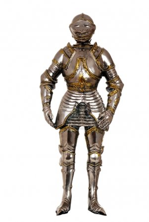 Isolated full suit of armour...