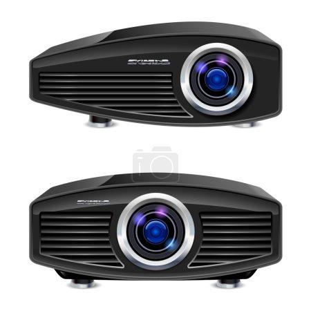 Realistic multimedia projector