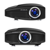 Realistic multimedia projector