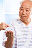 Senior asian healthcare