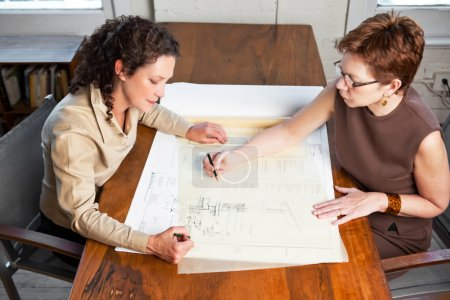 Working businesswomen