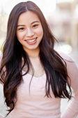 Krásná asijská žena