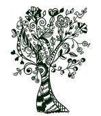 Fantastic abstract tree