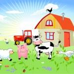 Farm animals...
