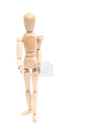 Wooden figure,