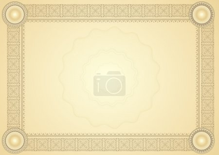 Photo pour Diplôme / certificat - image libre de droit