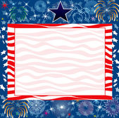 Vector Illustration for the 4th of July Independence or New Years background