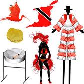 Trinidad and Tobago Icons