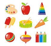Sada dětské obrázky pro mateřské školy