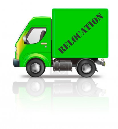 Relocation truck