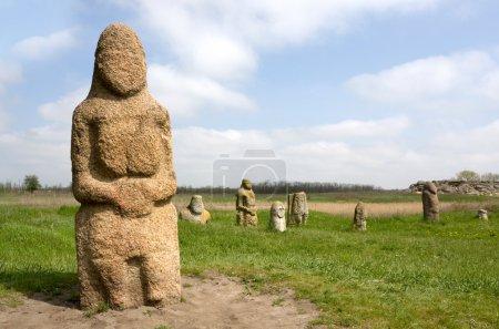 Stone idols