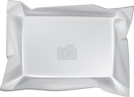 Illustration pour Emballage blanc vierge pour un nouveau design. Vecteur Eps10 - image libre de droit